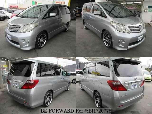 Used 2009 TOYOTA ALPHARD BH720778 for Sale