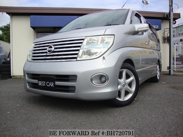 Used 2005 NISSAN ELGRAND BH720791 for Sale