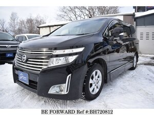 Used 2012 NISSAN ELGRAND BH720812 for Sale