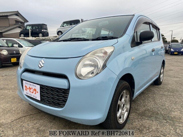 Used 2010 SUZUKI ALTO BH720814 for Sale
