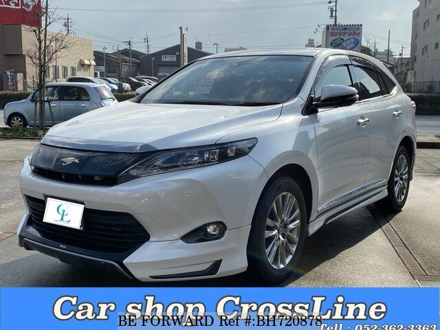 Used 2015 TOYOTA HARRIER BH720878 for Sale