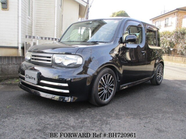 Used 2012 NISSAN CUBE BH720961 for Sale