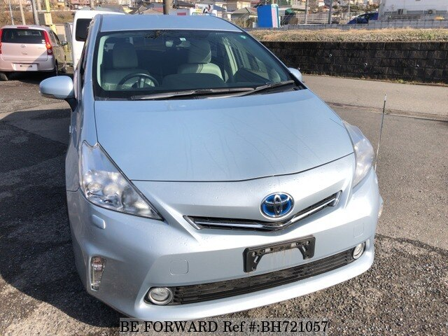 Used 2012 TOYOTA PRIUS ALPHA BH721057 for Sale