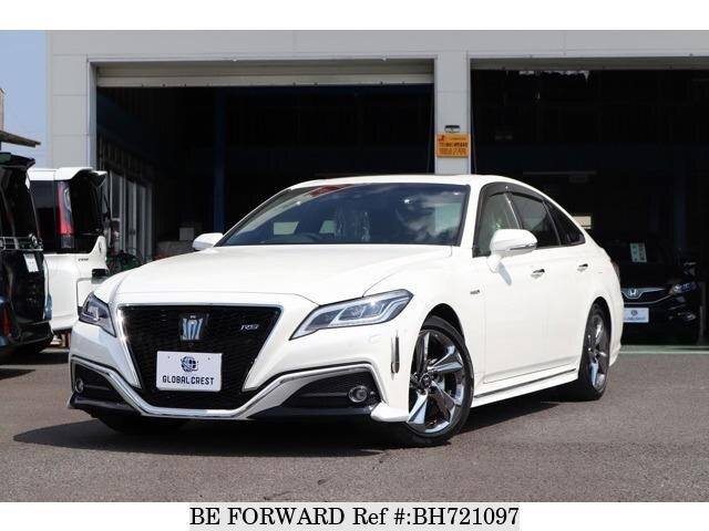 Used 2019 TOYOTA CROWN HYBRID BH721097 for Sale