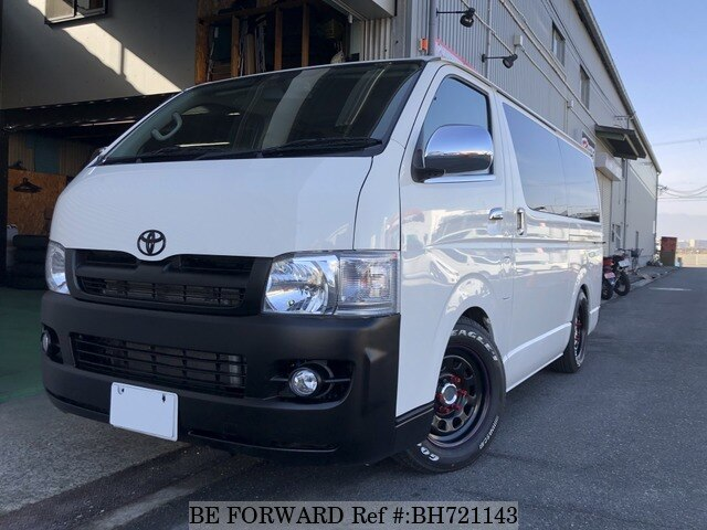Used 2008 TOYOTA REGIUSACE VAN BH721143 for Sale