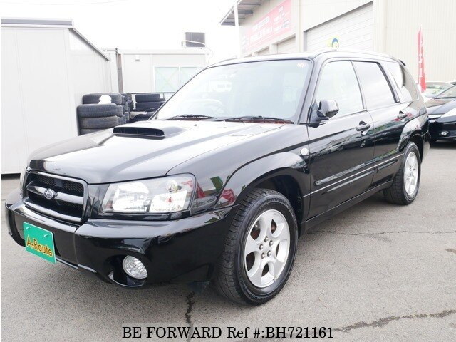 Used 2002 SUBARU FORESTER BH721161 for Sale