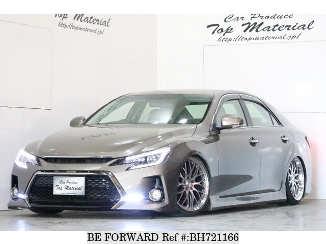 Used 2010 TOYOTA MARK X BH721166 for Sale