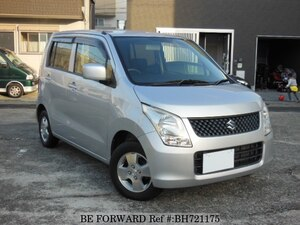 Used 2009 SUZUKI WAGON R BH721175 for Sale