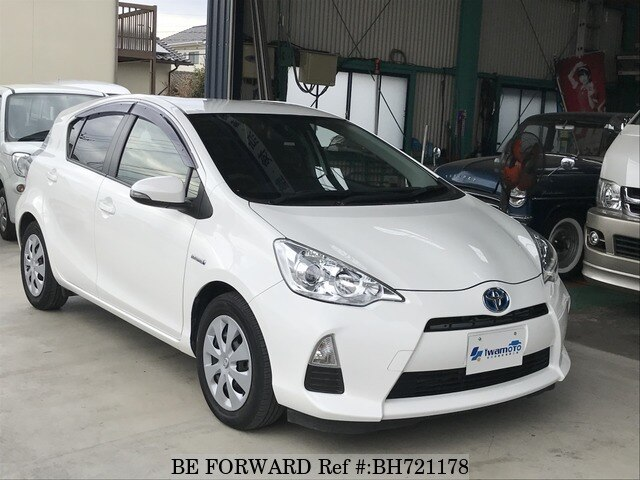 Used 2013 TOYOTA AQUA BH721178 for Sale
