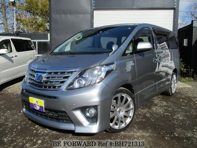 Used 2012 TOYOTA ALPHARD HYBRID BH721313 for Sale