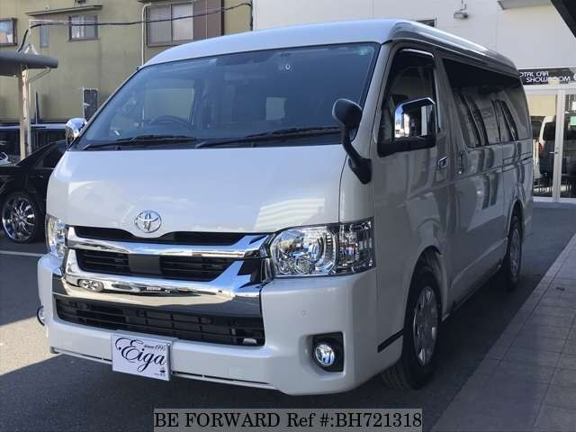 Used 2020 TOYOTA HIACE WAGON BH721318 for Sale