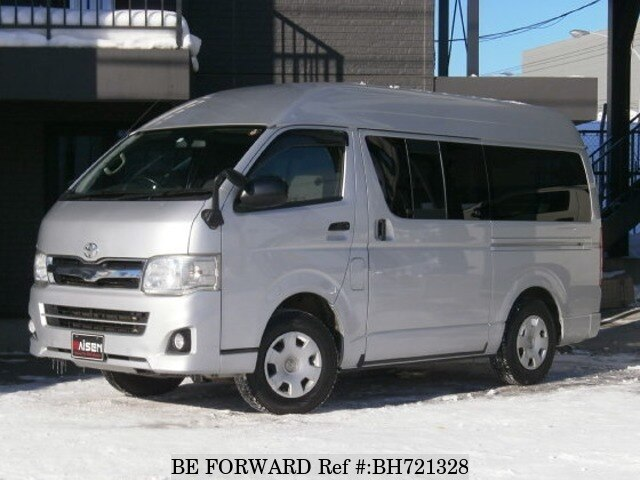 Used 2012 TOYOTA HIACE VAN BH721328 for Sale