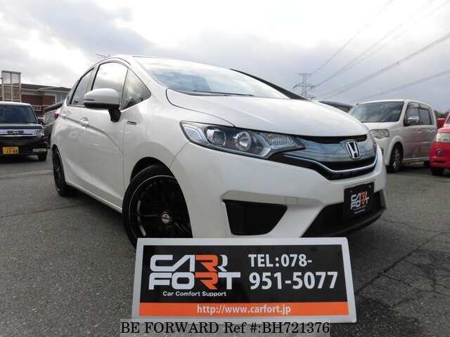 Used 2014 HONDA FIT BH721376 for Sale