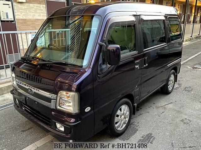 Used 2008 SUBARU SAMBAR BH721408 for Sale