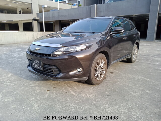 Used 2015 TOYOTA HARRIER BH721493 for Sale