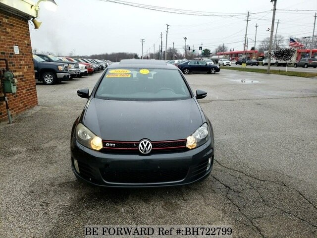 Used 2010 VOLKSWAGEN GOLF GTI BH722799 for Sale