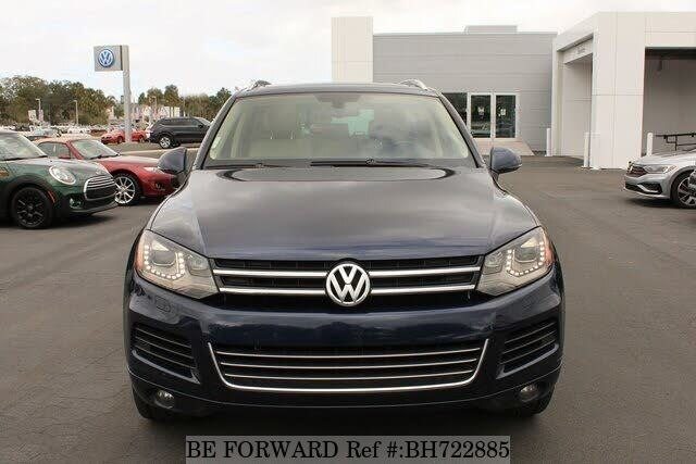 Used 2012 VOLKSWAGEN TOUAREG BH722885 for Sale
