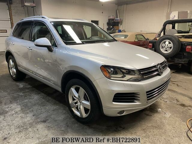 Used 2013 VOLKSWAGEN TOUAREG BH722891 for Sale