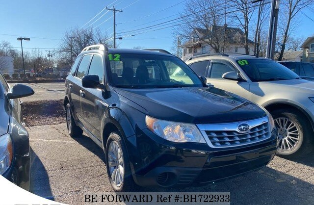 Used 2012 SUBARU FORESTER BH722933 for Sale