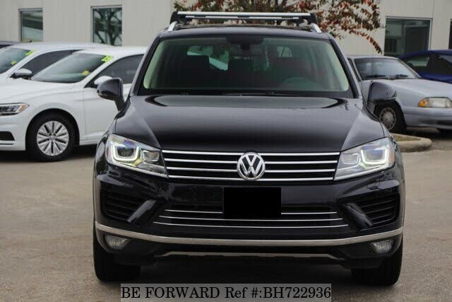 Used 2015 VOLKSWAGEN TOUAREG BH722936 for Sale