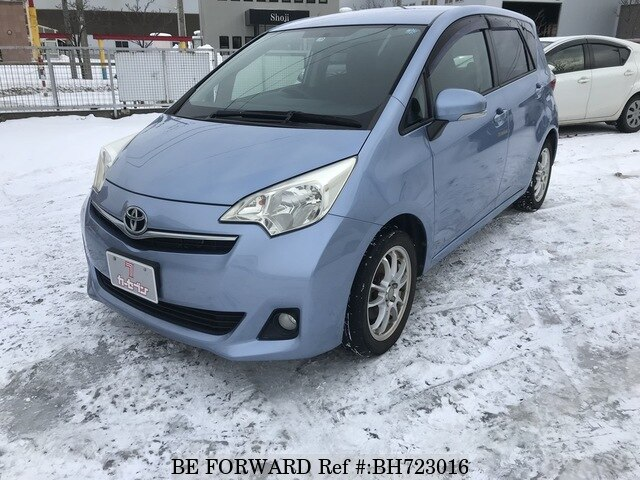Used 2011 TOYOTA RACTIS BH723016 for Sale