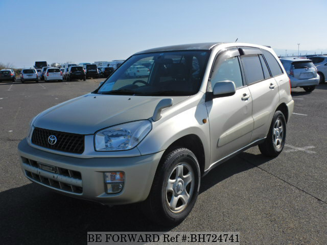 Used 2002 TOYOTA RAV4 BH724741 for Sale
