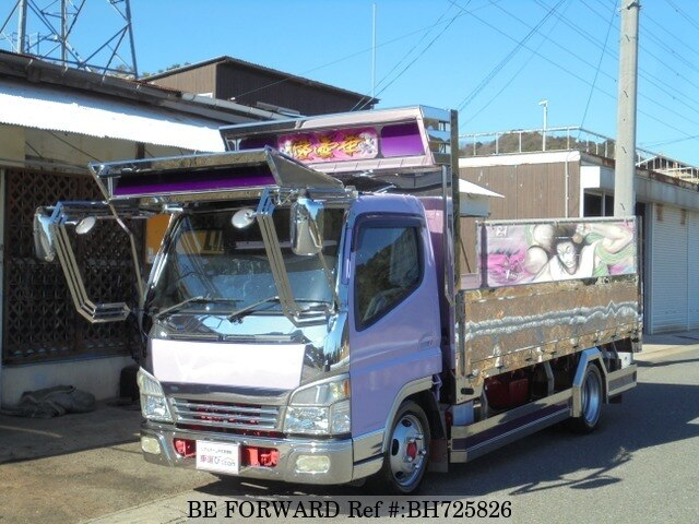 Used 2004 MITSUBISHI FUSO CANTER BH725826 for Sale