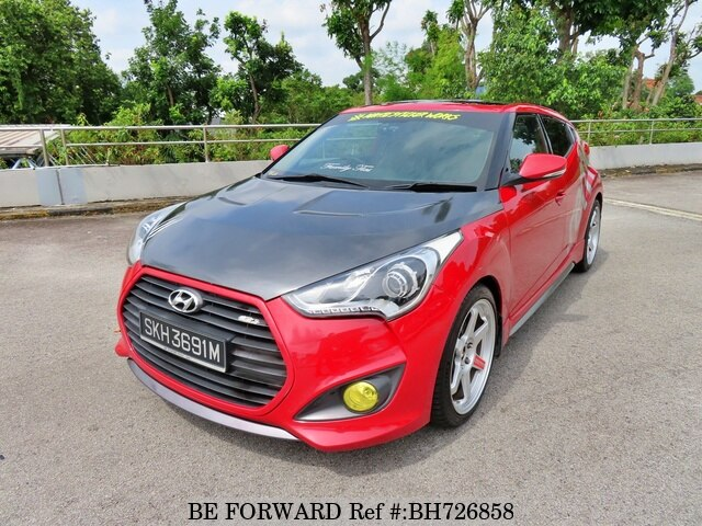 Used 2012 HYUNDAI VELOSTER BH726858 for Sale