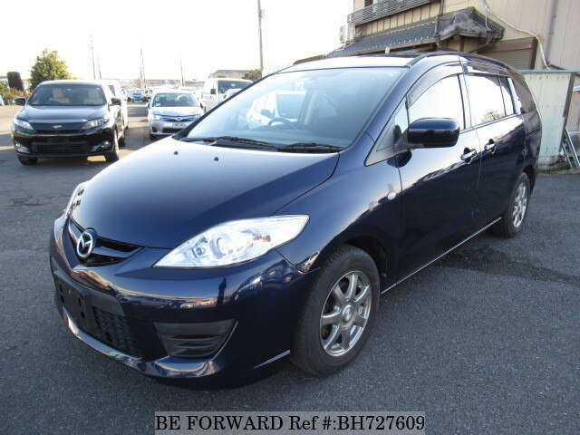 Used 2008 MAZDA PREMACY BH727609 for Sale