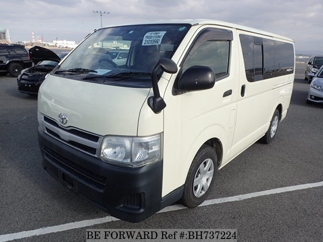 Used 2012 TOYOTA HIACE VAN BH737224 for Sale