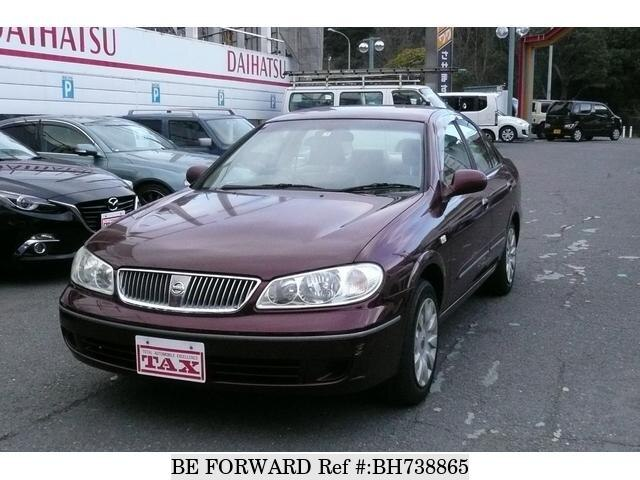Used 2003 NISSAN BLUEBIRD SYLPHY BH738865 for Sale