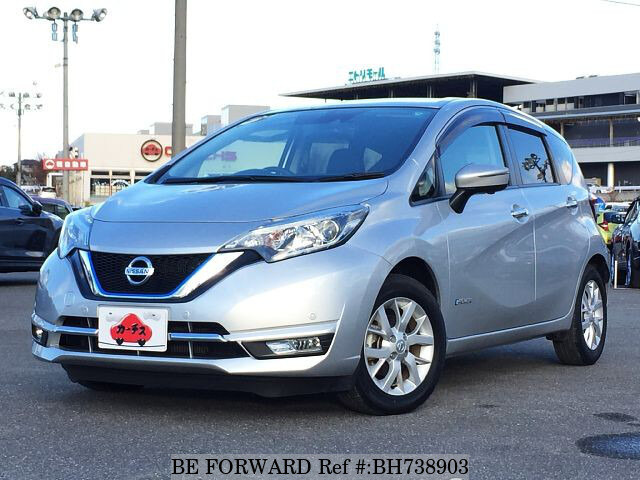 Used 2017 NISSAN NOTE BH738903 for Sale