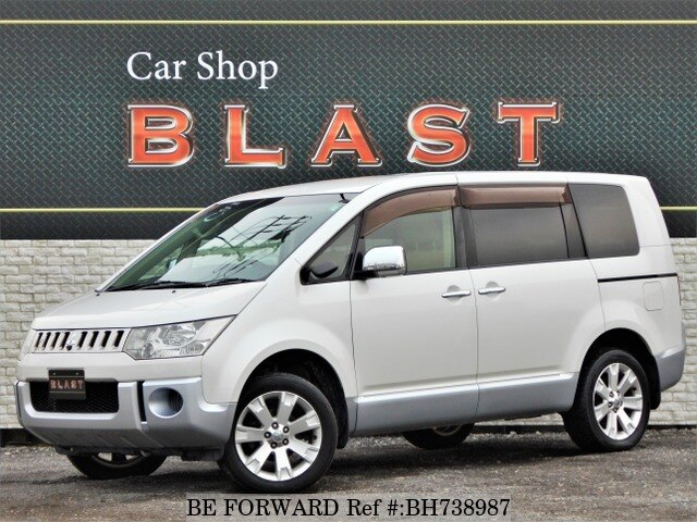 Used 2008 MITSUBISHI DELICA D5 BH738987 for Sale