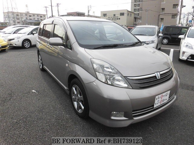 Used 2006 TOYOTA ISIS BH739123 for Sale