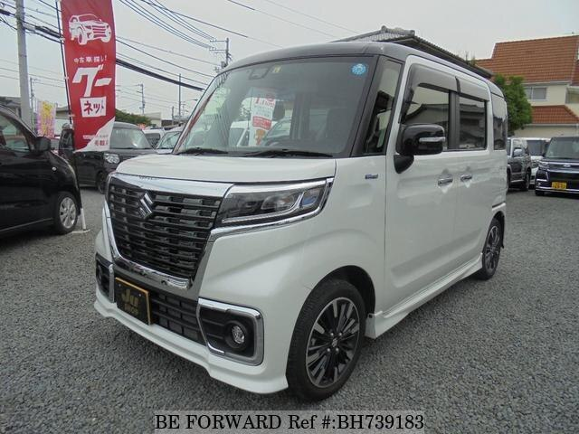 Used 2019 SUZUKI SPACIA BH739183 for Sale