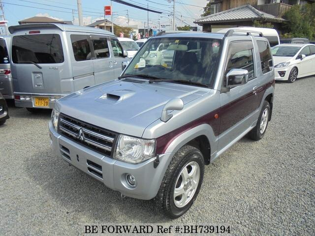 Used 2011 MITSUBISHI PAJERO MINI BH739194 for Sale