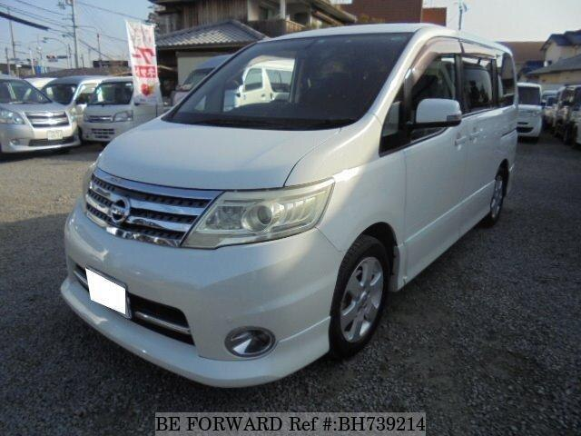 Used 2009 NISSAN SERENA BH739214 for Sale