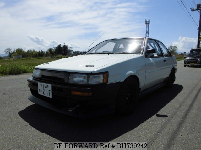 Used 1987 TOYOTA COROLLA LEVIN BH739242 for Sale