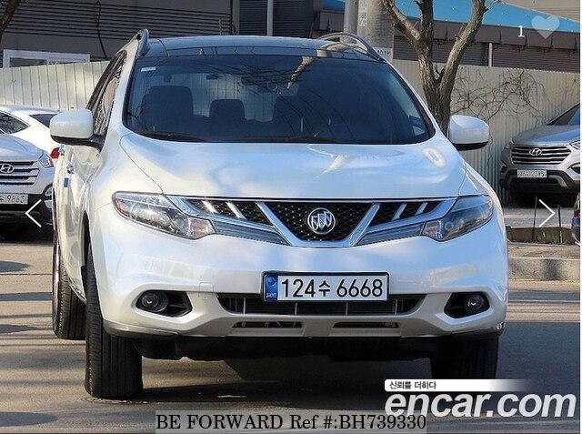 Used 2012 NISSAN MURANO BH739330 for Sale