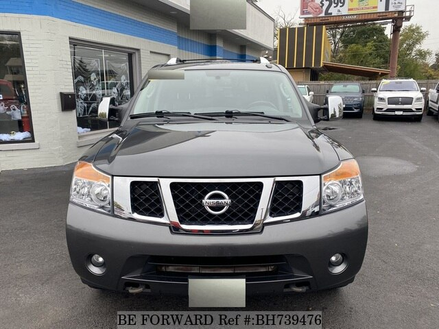 Used 2010 NISSAN ARMADA BH739476 for Sale