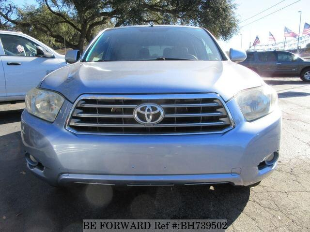 Used 2008 TOYOTA HIGHLANDER BH739502 for Sale