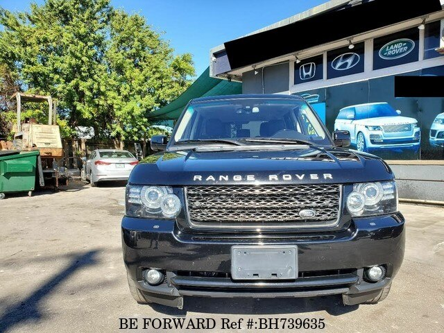 Used 2012 LAND ROVER RANGE ROVER BH739635 for Sale