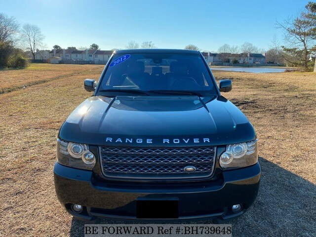 Used 2012 LAND ROVER RANGE ROVER BH739648 for Sale