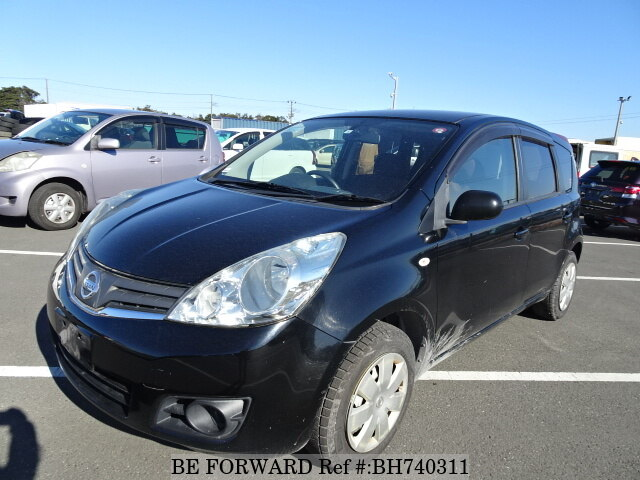 Used 2010 NISSAN NOTE BH740311 for Sale