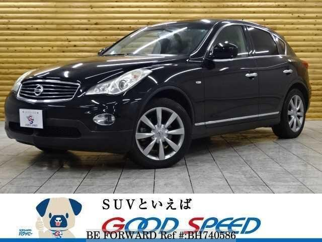 Used 2013 NISSAN SKYLINE CROSSOVER BH740586 for Sale