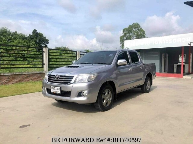 Used 2013 TOYOTA HILUX BH740597 for Sale