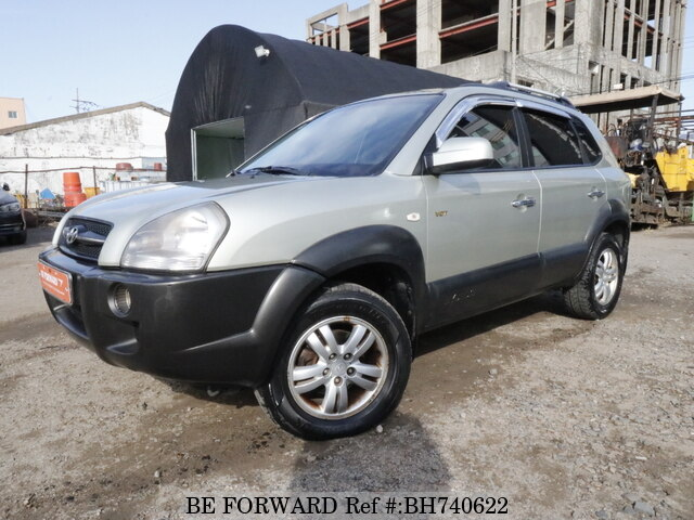 Used 2007 HYUNDAI TUCSON BH740622 for Sale