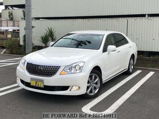 Used 2009 TOYOTA CROWN MAJESTA BH740911 for Sale