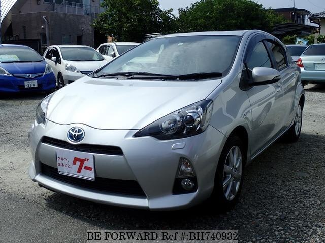 Used 2014 TOYOTA AQUA BH740932 for Sale