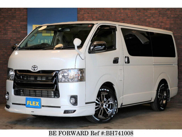 Used 2017 TOYOTA HIACE VAN BH741008 for Sale